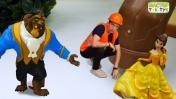 ТукТук Шоу - Герои Дисней помогают мастеру ТукТук - Видео с игрушками.