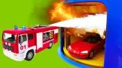 Машины-Помощники - Тягач, бензовоз, кабриолет, вертолет