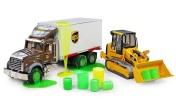 Большие машины!— Видео для детей: машины-помощники— Машинки Гусеничный трактор и Автокран