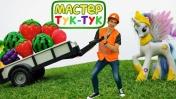 ТукТук Шоу - Литл Пони и Мастер ТукТук на фестивале - Видео для девочек.