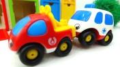 Машины -Помощники - Мотоцикл, скорая помощь, эвакуатор