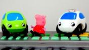 Свинка Пеппа и Машинки - Поздравление с днём рождения