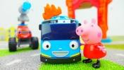 Мультики про машинки - Автобус Тайо хочет стать пожарным