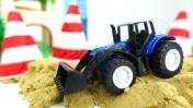 Машины -Помощники - Автобус, трактор и светофор