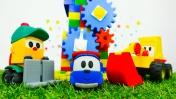 Грузовичок Лева и Мася строят мельницу - Конструктор для детей