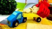 Машины-Помощники — Погрузчик, грузовик, бетономешалка, бульдозер