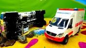 Машинки для мальчиков - Новые машины-помощники - Приключения бензовоза