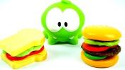 Мультики Амням - Готовим дома: сэндвич, бургер