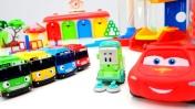 Автобус Тайо и Молния Маквин - Игры для мальчиков