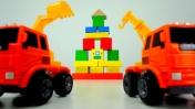 Мультики про рабочие машины - Строим город