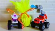 Чудо машинки - Пасхальные яйца - Вспыш ищет подарки