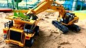 Видео про игры в машинки в песке. Приключения Тайо и Робокара Поли!
