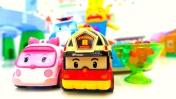 Машинки и Робокар Поли расследуют пропажу мороженого