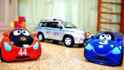 Машинки для детей - Синди и Джими играют в прятки