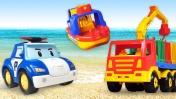 Машинки могут переплыть море?! Видео для малышей про игрушки