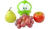 Развивающее видео - АмНям моет фрукты - Видео для детей