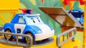 Игры с машинками - Робокар Поли - Распаковка игрушек