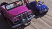 Мультики про машинки - Игры на улице с песком