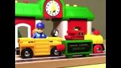 Машинки Brio: Часы на железнодорожной станции