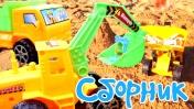 Детские машинки все серии подряд - Строительная техника