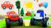 Вспыш и машинки - Игры для мальчиков - Трасса