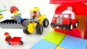 Видео для детей - Кубики, Лего и машинки - Случай на стройке