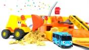 Машинки Тайо и Мася  - Игрушки и стройка