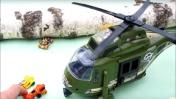 Мультик про машинки и вертолетик - Игры на улице