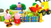Видео с машинками - Свинка Пеппа, Машинка Лева и цветы
