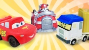 Видео про машинки для детей. Как живут игрушки из мультиков?