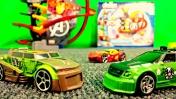 Мультики про машинки - Конструктор и суперскоростная трасса