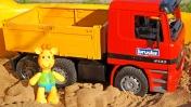 Видео для детей - Жирафик Мофи лепит Куличики