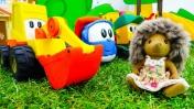 Игрушки Грузовичок Лева и Мася - Детская площадка для ежиков