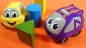 Мультфильмы и развивающие видео про машинки. Учим цвета.