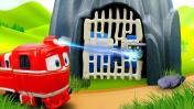 Приключения роботов-поездов— Мультики для мальчиков— Куда исчезли вагончики Кея?