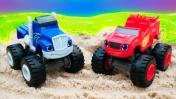 Мультики про машинки и игрушки Вспыш и Чудо Машинки - Гонки машинок