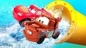 Тачки Молния Маквин — Lightning McQueen Cars Race — Машинки Молния Маккуин и Мэтр добывают воду