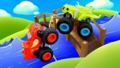 Мультики про машинки— Вспыш, Крушила иЗэг— Кто лучший вгонках? —Игры для мальчиков