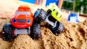 Видео про игрушки Чудо Машинки для детей. Заг готовиться к гонкам