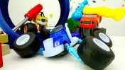 Игры для мальчиков - Вспыш и чудо-машинки - Погоня за Крушилой