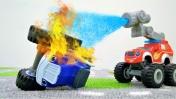 Вспыш и машинки - Крушила сломал светофоры