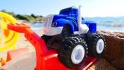 Вспыш и Крушила - Случай на пляжной трассе