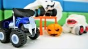 Детское видео про машинки - Вспыш и Чудо-машинки на Хэллоуин