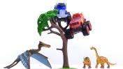 Мультики про машинки для мальчиков - Вспыш онлайн - Парк динозавров