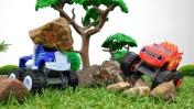 Игры для мальчиков - Чудо-машинки - Ловушка для Крушилы