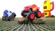 Вспыш, Крушила и Зег - Машинки на Луне - Видео для детей
