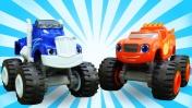 Видео про машинки: Вспыш и Крушила едут на соревнования!