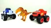 Вспыш и чудо-машинки - Игры для мальчиков с динозаврами