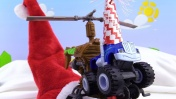 Видео с машинками - Крушила и Дед Мороз - Склад подарков