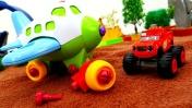 Игры для мальчиков - Вспыш ремонтирует игрушечный самолет